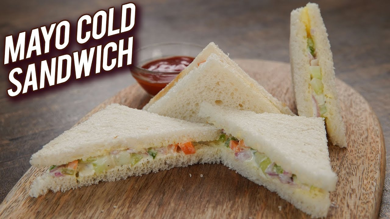Quick Easy Sandwich Recipe Mayonnaise Cold Sandwich Recipe Veg Mayo Sandwich Bhumika Youtube