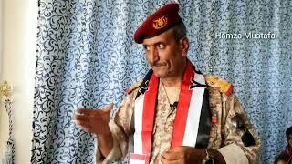 شاهد :الشهيد عدنان الحمادي يروي حوار له مع قيادي اصلاحي حول تحرير تعز