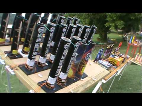 Finale setup using the Cobra Firing System - YouTube