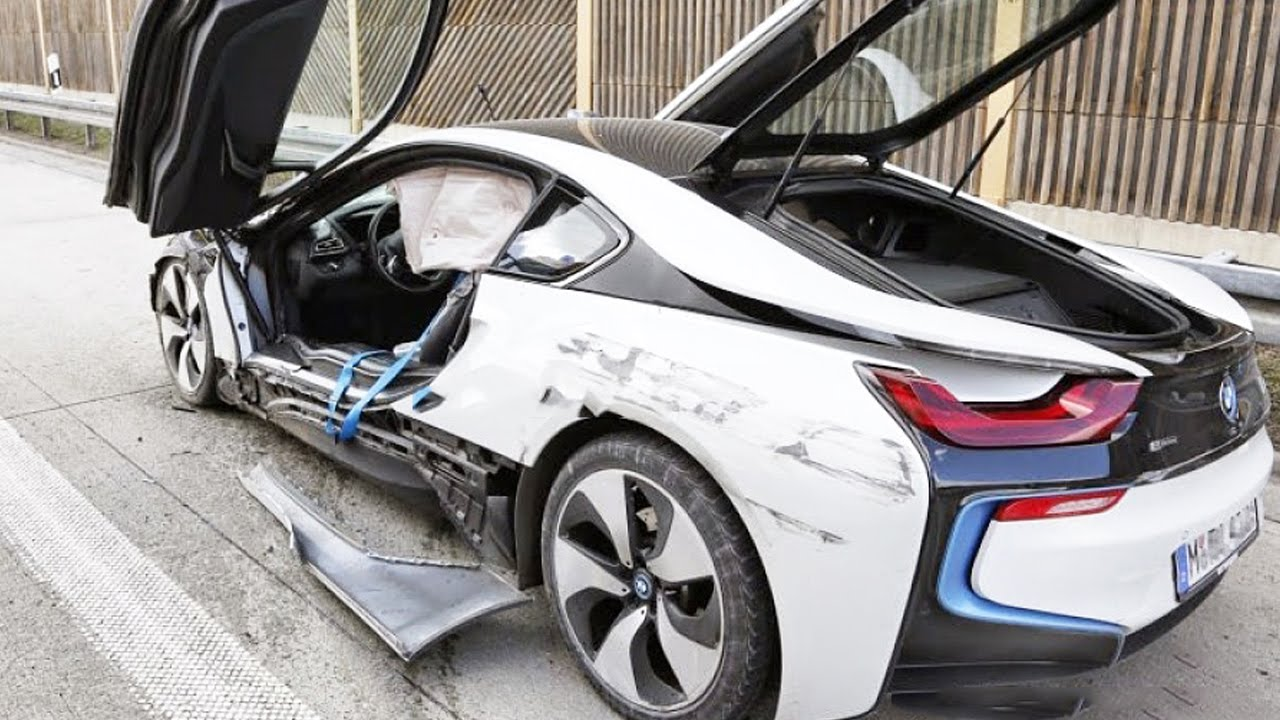 Latest Car Accident of BMW i8 - Road - Crash - Compilation - Traffic ...
