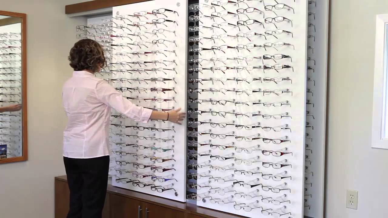 Sliding Panel Display By Interior Optical Displays Youtube