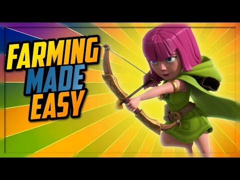 Clash of Clans: BEST LEAGUE for farming!? BEST ARMY COMP to farm with!?