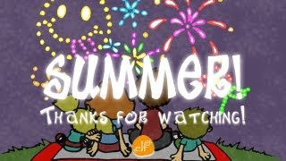 Fun Summer Song! | I Love Summer | Seasons | ELF Learning