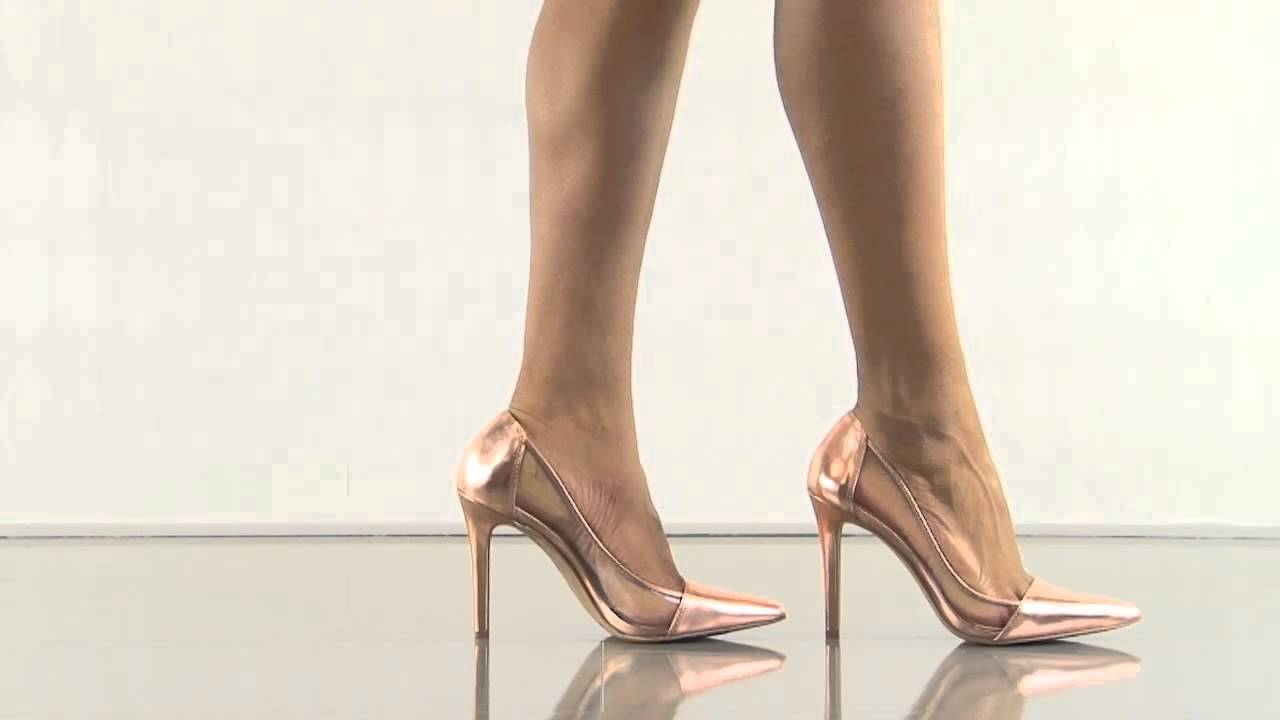 c5780875b23 Calkins in Rose Gold Liq Metallic Jessica Simpson - YouTube