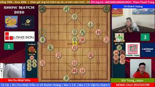 Showmatch 2020   Cờ Úp   Bùi Chu Nhật Triều vs Vũ Khánh Hoàng  