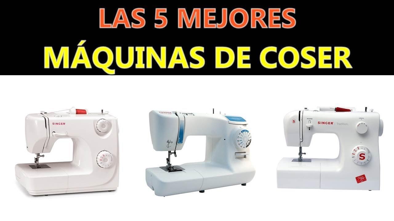 Mejores Máquinas De Coser 2020 - YouTube