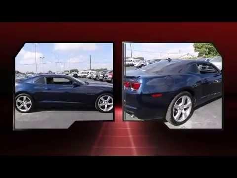 Used 2011 Blue Chevrolet Camaro 1LT RS For Sale Near Corpus Christi, Kingsville,& Beeville, TX.