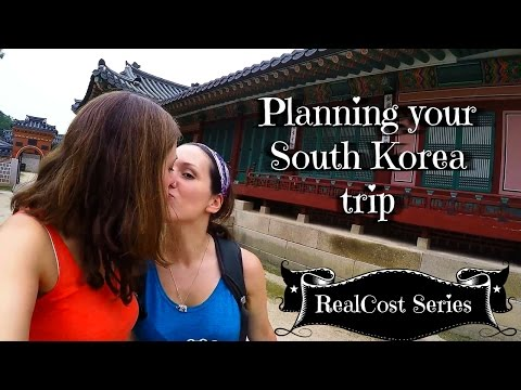How to travel SOUTH KOREA (exact budget/costs)?