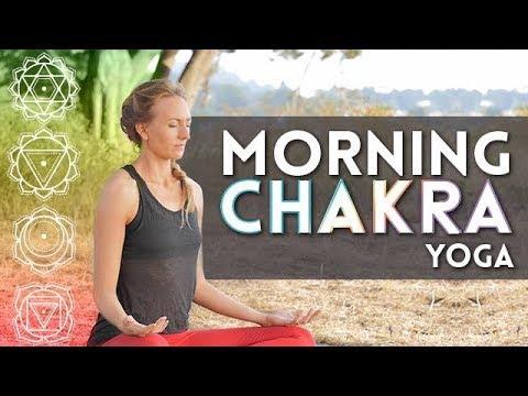 Morning Chakra Yoga for Energy - Day 1 {20 Min}