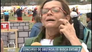 Concurso de obstáculos busca evitar accidentes en el sector de construcción