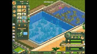 Let's Play Zoo Tycoon: Marine Mania Ep.2 Otter Exhibit