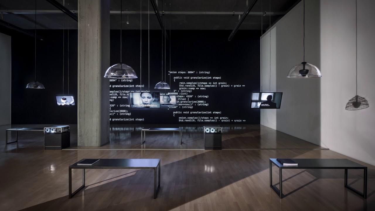 Installation Dual Use Lenbachhaus Munchen 2016 Youtube