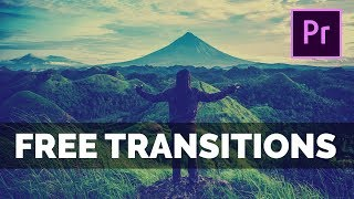 FREE Premiere Pro Transitions Pack with Sound Effects Download