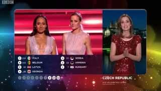 Eurovision 2015 Full Voting BBC - Graham Norton Commentary
