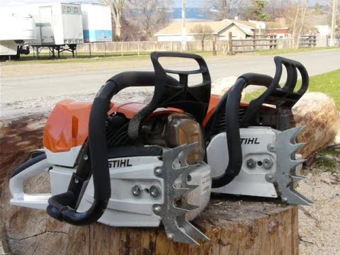 Stihl® Motor Saw 462 vs. 461 vs. 500i  All Stock Comparison