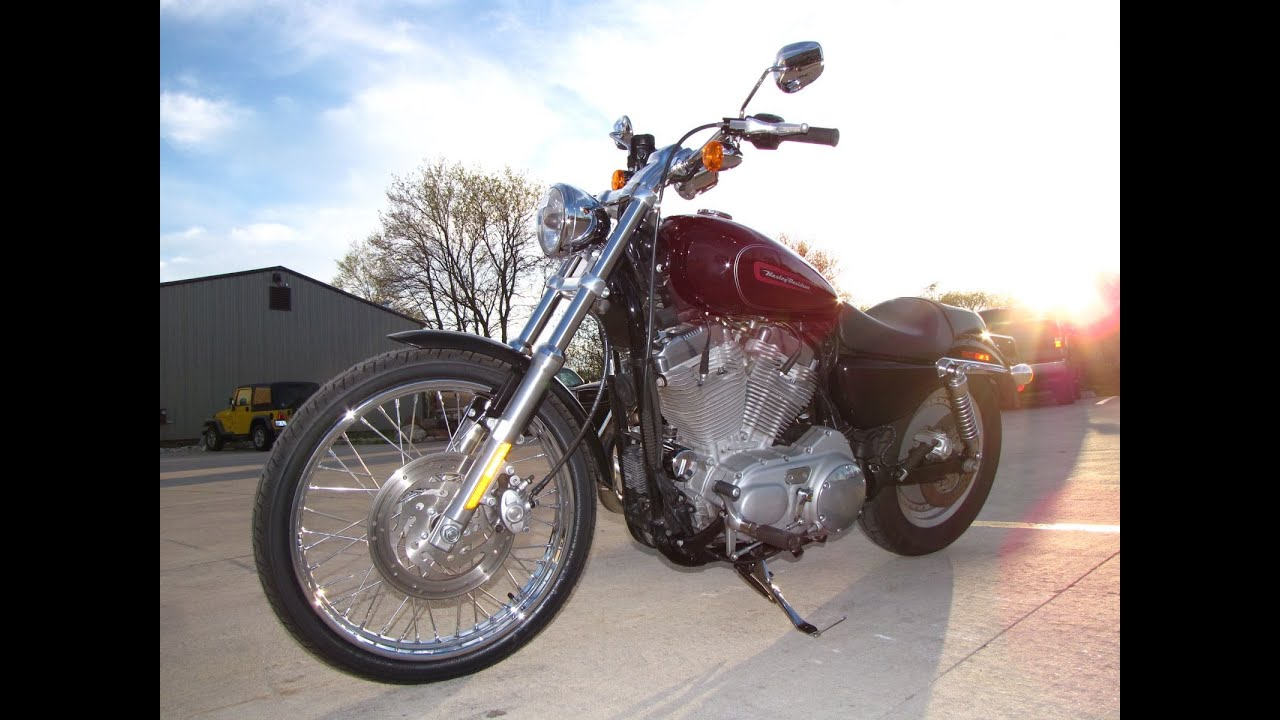 2008 harley davidson sportster 883 custom xl883c youtube sciox Gallery
