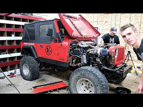 So Much Turbo Spool! Turbocharged Jeep