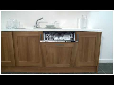 Built In Dishwasher With Cabinet Front