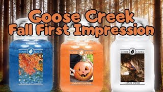 NEW Goose Creek Fall 2018 Preview | Carving Pumpkins | Autumn Leaf & Amber | Bedtime Stories