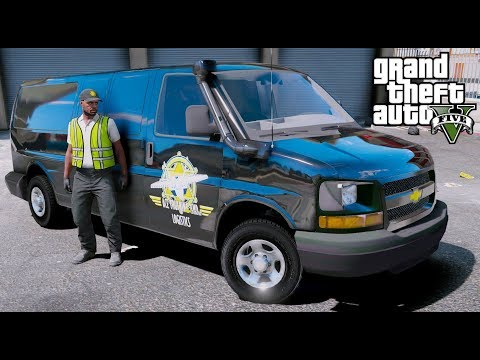 GTA 5 REAL LIFE MOD #26 ACE LOGISTICS & TRUCKING TRANSPORTING CARGO WITH OUR CHEVY EXPRESS VAN