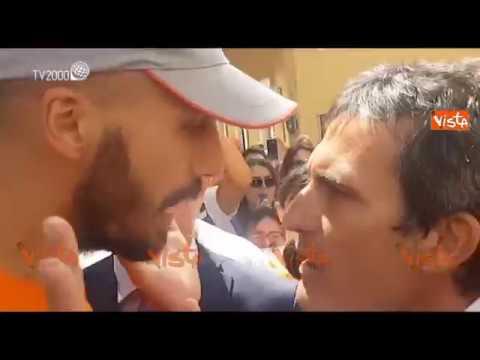 L 39 aggressione dei no vax ai deputati pd che escono dalla for In diretta dalla camera dei deputati