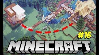 Minecraft Survival (EM DUPLA) #16: CAVEI UM TÚNEL SUBTERRÂNEO INTERLIGANDO NOSSAS CASAS