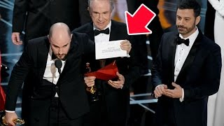 2017 Oscars FAIL Explained