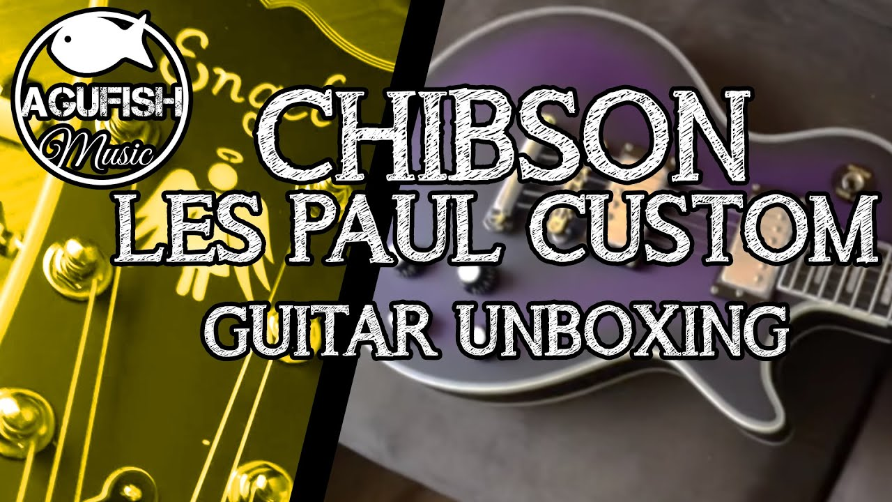 2014 chinese les paul custom chibson unboxing featuring koshi the kitten youtube. Black Bedroom Furniture Sets. Home Design Ideas