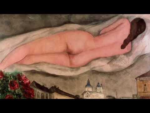 """Alexei Saranchin """"Keep your distance"""", Mark Chagall """"Nude over Vitebsk"""""""