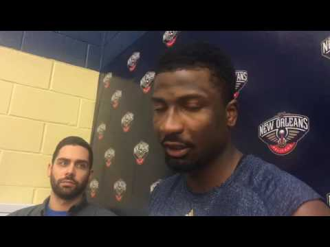 Pelicans F Solomon Hill on guarding the Golden State Warriors