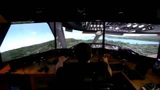 MS Flight Simulator X w/ nVidia Surround, TrackIR & G940