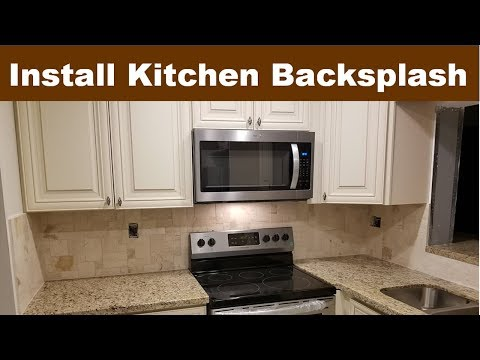 Kitchen Backsplash Tile Ideas, Installation Tips DIY