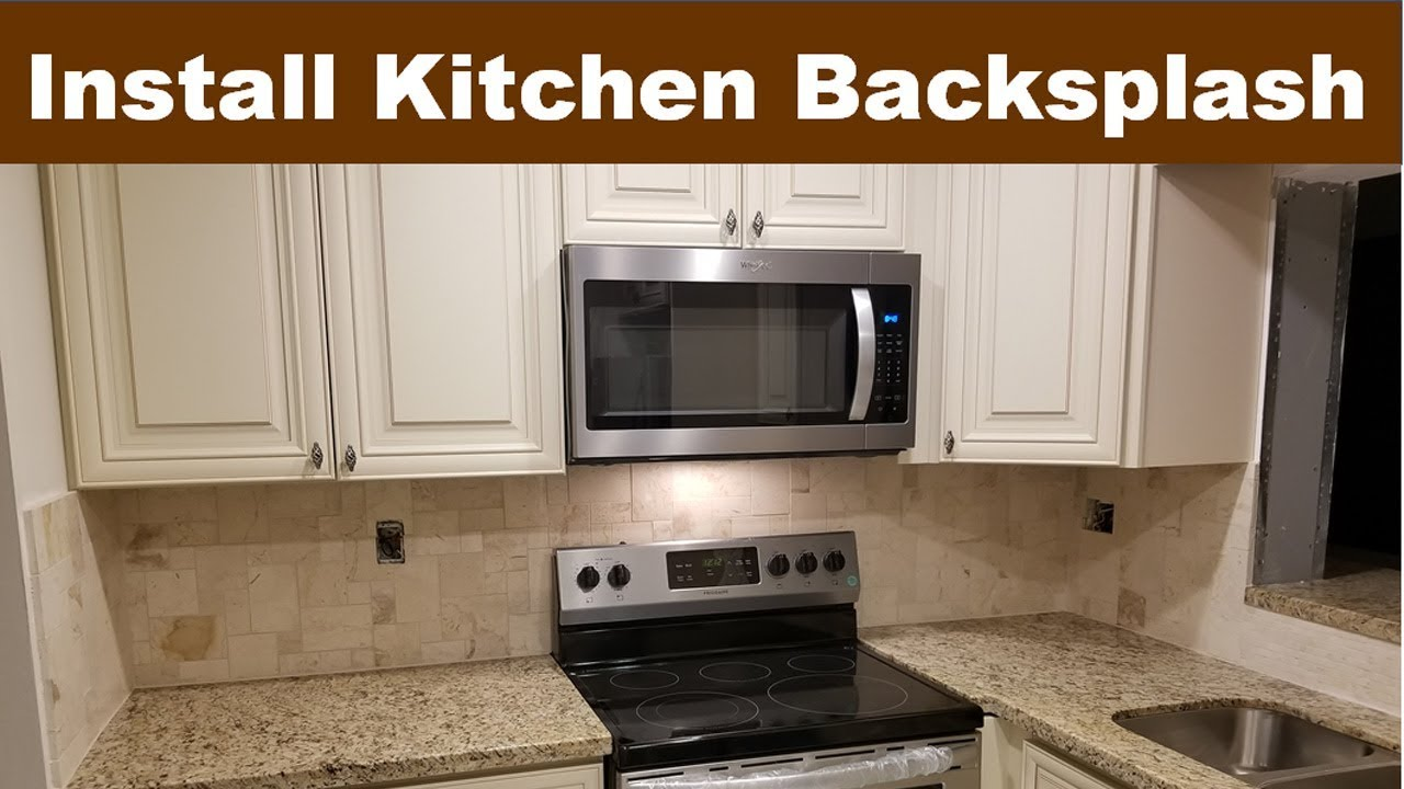 - Kitchen Backsplash Tile Ideas, Installation Tips DIY - YouTube