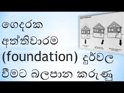 reason for fail, house foundation