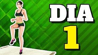 Gambar cover Rotina de Exercícios Diários: Dia 1 (Queime Gordura + Exercícios de Bumbum e Pernas)