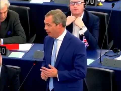 EU Parliament; Angela Merkel's 'open door refugee policy will lead to civil war'