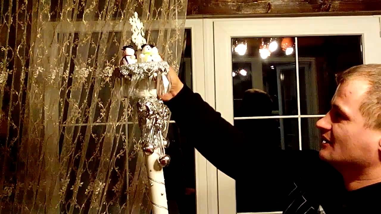 Дед мороз с подсветкой своими руками фото 744