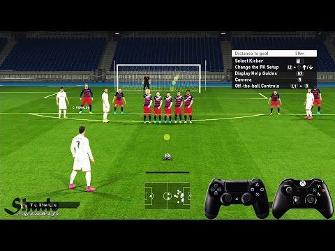 PES 2016 Free Kick Tutorial | Xbox & Playstation | HD 1080p
