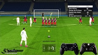 PES 2016 Free Kick Tutorial | Xbox & Playstation | HD 1080p(Get cheap games and codes at https://www.g2a.com/r/gamingsho 3% discount code