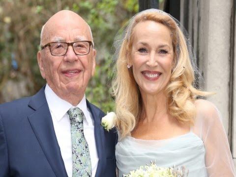 Murdoch Weds Hall at Star-studded Ceremony