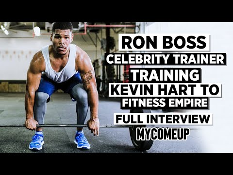 How Kevin Hart's Trainer Ron Boss Went From Being a 'Wild Boy' to Training Celebrities | MYCOMEUP