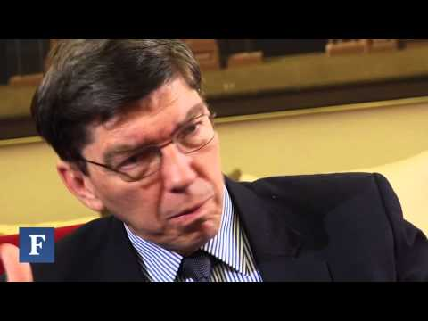 Clayton Christensen On Truth, God and Personal Courage