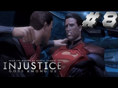 Injustice Story Walkthrough Part 8 Now it Ends Superman!