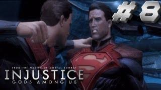 Injustice Story Walkthrough Part 8 Now it Ends Superman!