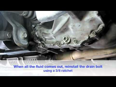 How to change your manual transmission fluid - YouTube