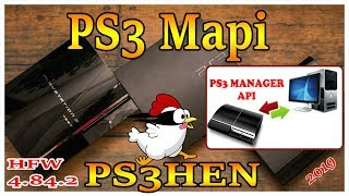How To Connect PS3MAPI To Your PS3 With WebMan And Hen HFW PS3 4 84 2 2019