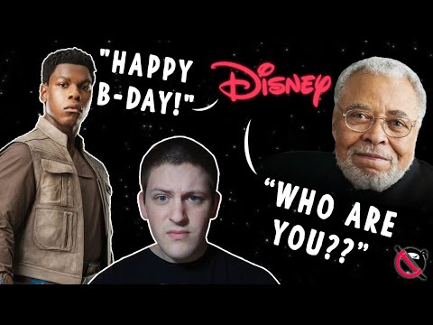 Lucasfilm Wishes John Boyega Happy Birthday – WHAT ABOUT JAMES EARL JONES?