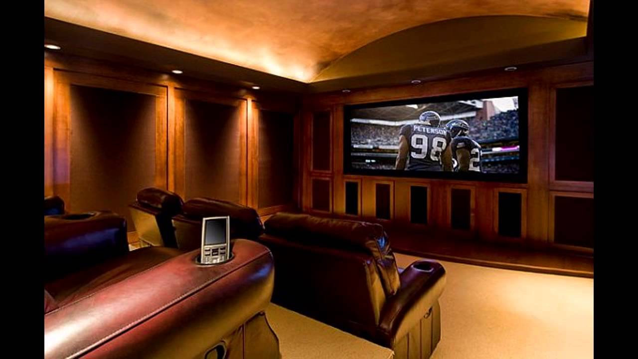 Best home theatre room design youtube - Home theater room design ideas ...