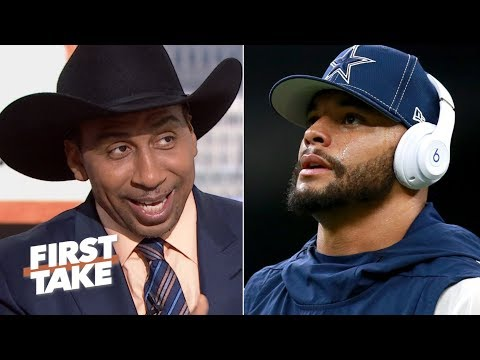 stephen-a.-celebrates-the-cowboys'-loss-to-the-saints- -first-take