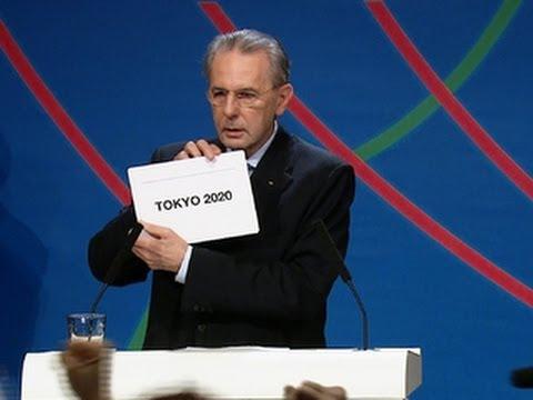 2020 Olympics awarded to Tokyo